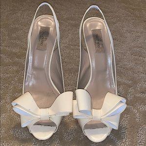 White heels - Valentino